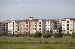 Apartments hacienda Royalty Free Stock Images
