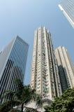 Apartments in Hong Kong. Royalty Free Stock Images