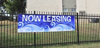 Apartments for Lease. Apartment Condo`s or townhomes for residential lease available Royalty Free Stock Image