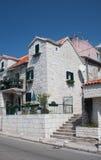 Apartments. Makarska. Croatia Stock Photo