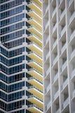 Apartments, Miami Royalty Free Stock Photography