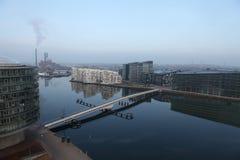 Apartments. Modern apartment buildings in the center og Copenhagen Stock Photo