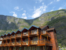 Apartments in the mountain Royalty Free Stock Photography
