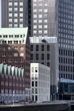 Apartments and office buildings Royalty Free Stock Images