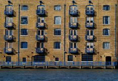 Apartments - Old Industrial Design Royalty Free Stock Image