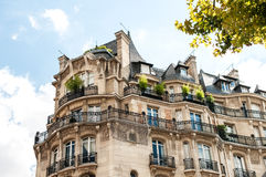 Apartments in Paris Royalty Free Stock Images