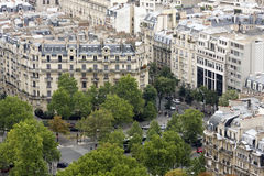 Apartments in Paris city center Stock Image