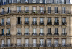Apartments in Paris, France Royalty Free Stock Image