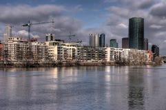 Apartments River Royalty Free Stock Photos