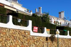 Apartments for sale, Spain. Stock Images