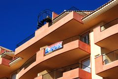 Apartments for sale, Spain. Stock Photo