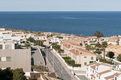 Apartments in Santa Pola Stock Images