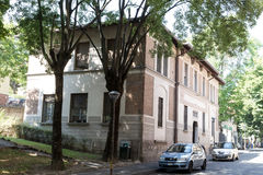Apartments in the south #3. Salsomaggiore Italy Stock Photo
