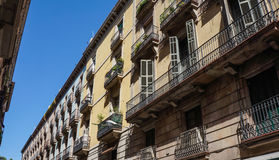 Apartments Spain Royalty Free Stock Photography
