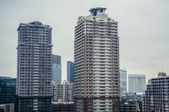 Apartments in Tokyo Royalty Free Stock Photography