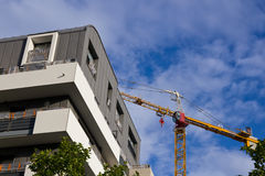 Apartments under construction Stock Photography