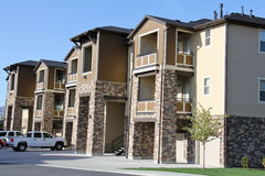 Apartments in Utah Stock Photo