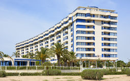 Apartments on Valencia Seafront, Spain Stock Image