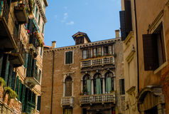 Apartments in Venice, Italy. Royalty Free Stock Image