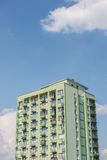 Apartments in Warsaw Stock Photography