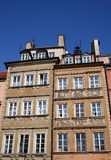 Apartments in Warsaw Old Town Royalty Free Stock Image