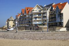 Apartments. Wimereux. France Royalty Free Stock Photography