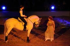 Apassionata - το άλογο παρουσιάζει Στοκ φωτογραφία με δικαίωμα ελεύθερης χρήσης