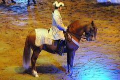 Apassionata - το άλογο παρουσιάζει Στοκ Εικόνες