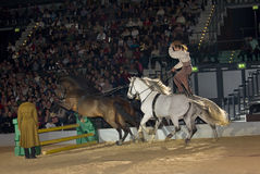 Apassionata horse show Royalty Free Stock Images