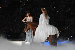 Apassionata horse show Stock Photography