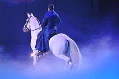 Apassionata - Koński przedstawienie Obrazy Royalty Free