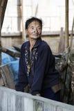 Apatani stam Fotografering för Bildbyråer