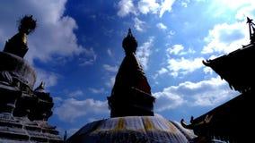 Apatempel Stupas Katmandu, Nepal Julian Bound Royaltyfri Bild