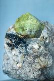 Apatite. Nord minerals of cola peninsula Stock Photos