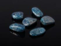 Apatite azul Imagem de Stock Royalty Free