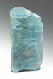 Apatite Blue Crystal Macro - Semiprecious Stone Royalty Free Stock Photography