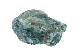 Apatite mineral Imagens de Stock
