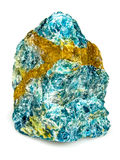 Apatite mineral geology Royalty Free Stock Images