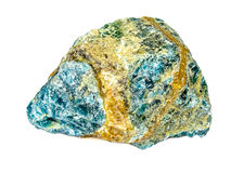 Apatite mineral Royalty Free Stock Photo