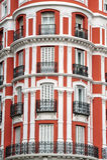 apatment που χτίζει τη Μαδρίτη Ισπ&a Στοκ φωτογραφία με δικαίωμα ελεύθερης χρήσης