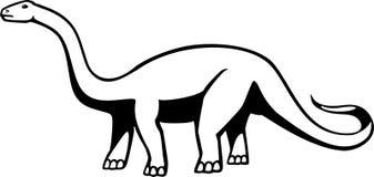 Apatosauro Immagine Stock