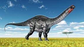 Apatosaurus динозавра бесплатная иллюстрация