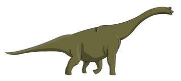 Apatosaurus Fotos de archivo libres de regalías
