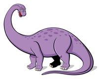 Apatosaurus för barn Arkivfoton