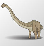 Apatosaurus illustration Royalty Free Stock Images