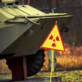APC προειδοποιητικών σημαδιών Στοκ Φωτογραφία