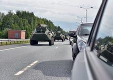 APC στο δρόμο Στοκ εικόνες με δικαίωμα ελεύθερης χρήσης