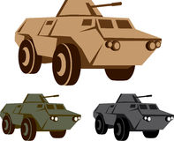 APC armored personnel carrier Royalty Free Stock Image