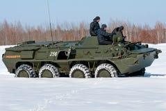 APC BTR-80 Στοκ εικόνα με δικαίωμα ελεύθερης χρήσης