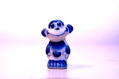 Ape. Tiny Ape is smiling at you royalty free stock image